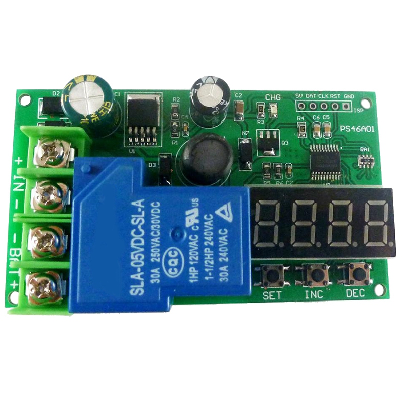 0 30A 7.4V 12V 14.8V 24V 48V Lead Acid Ni Cd Ni MH Li ION Li PO Lithium Battery Charging Protection Board Module|Battery Accessories| |  - title=