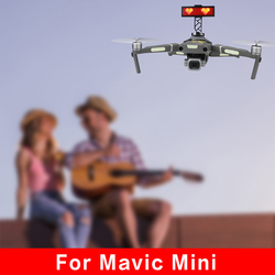 Lightweight LED Display Screen Holder Advertising Light Propose for DJI Mavic 2 Zoom Drone Display Board Bracket Accessories