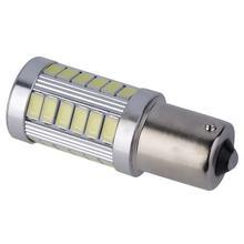 1pc 1156 ba15s p21w led estilo do carro luz 5630 33smd ba15s carro auto l luzes p21w lâmpada led 12v