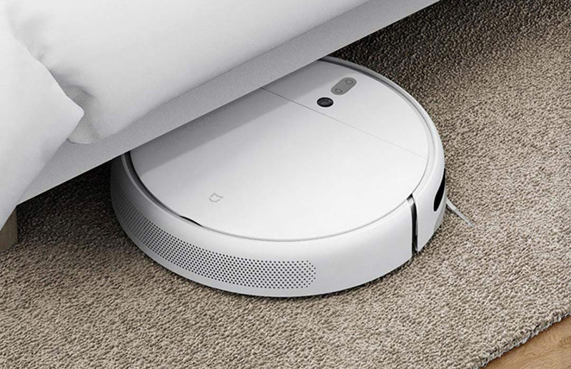 Hd39e712ef0e34ec69d46840173a3b717t XIAOMI MIJIA Mi Sweeping Mopping Robot Vacuum Cleaner 1C for Home Auto Dust Sterilize 2500PA cyclone Suction Smart Planned WIFI