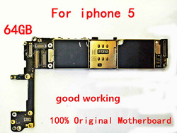 64GB na oryginalną płytę główną dla Apple iPhone 5 64gb 100% działający i odblokowany Logicboard