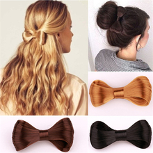 New Fashion Hairstyle Novelty Large Bow Ties Wig Hairpin For Women Girl Hair Styling Tool Hair Accessories Headwear