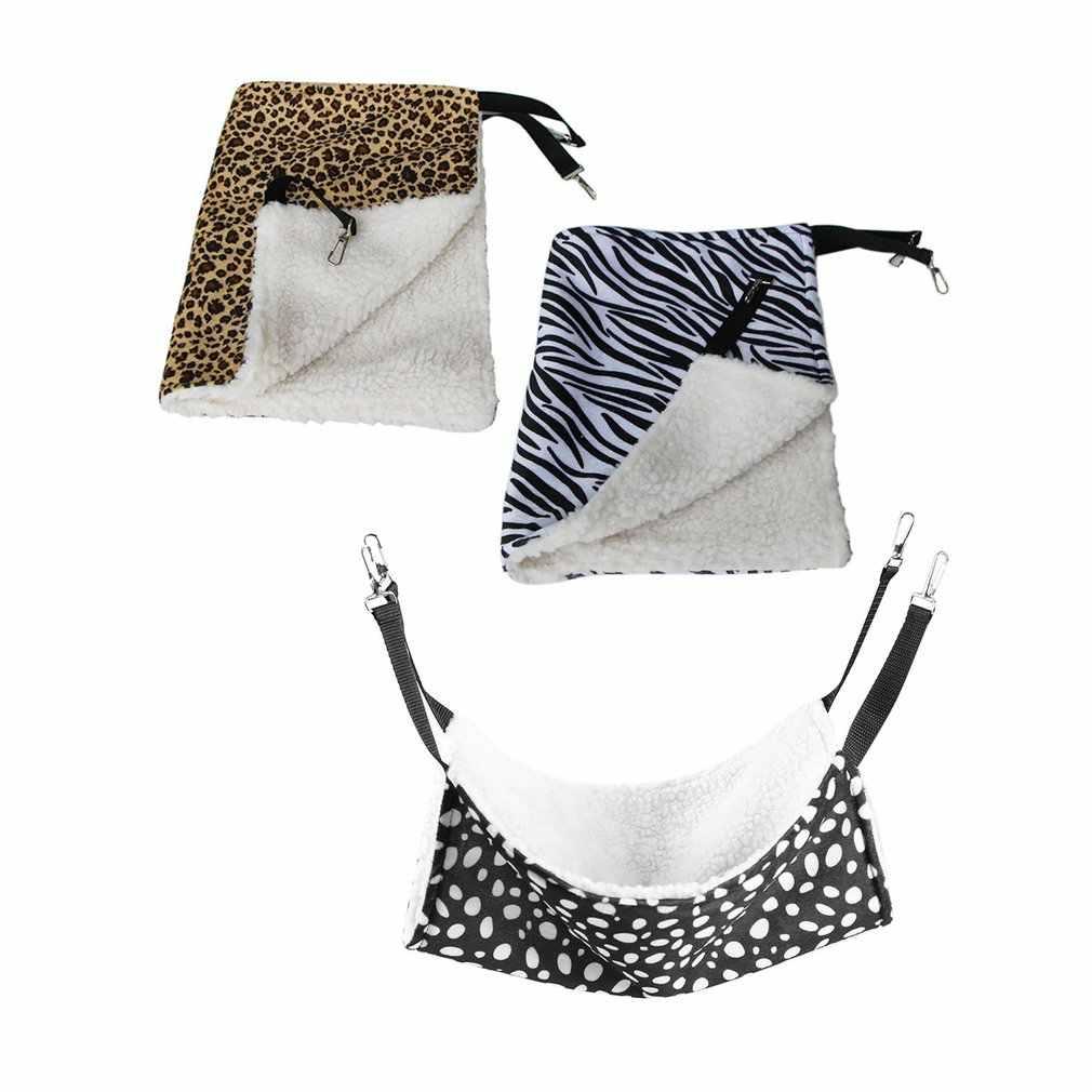 교수형 고양이 해먹 애완 동물 용품 고양이 침낭 애완 동물 고양이 케이지 통기성 양면 사용 가능한 따뜻한 고양이 침대 매트