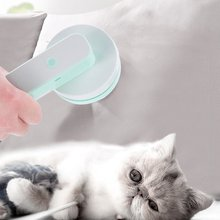 Portable Electric Cat Dog Pet Hair Stick Hair Brush, Pet Massage Cleaning Vacuum Cleaner Pet Hair Absorbers Cleaning Tool(China)