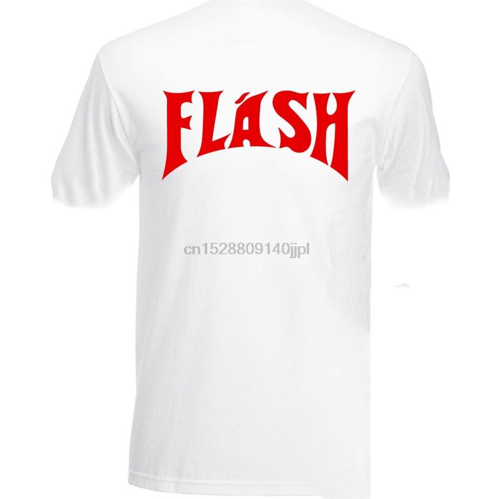 Flash Mens Fancy Dress T-Shirt Costume As Worn By Queen Freddie Mercury Gordon Summer Style Tee Shirt(China)