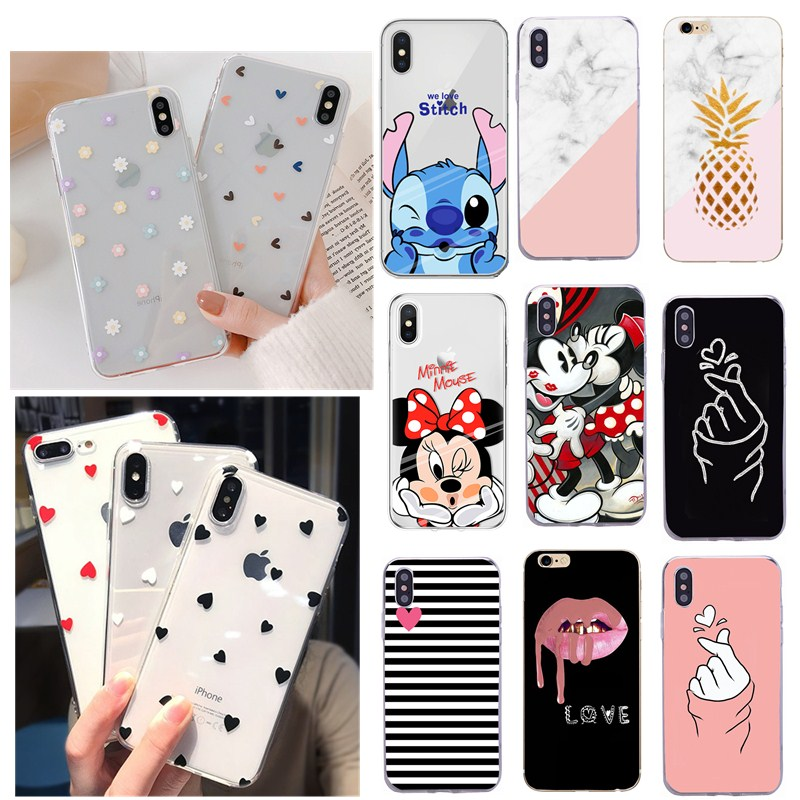 Phone Case Fashion Women Girl For IPhone X Case For IPhone 5 5S SE 6 6s 7 8 Plus 11 Max Pro Case Woman Cover For Iphone 5 S Case