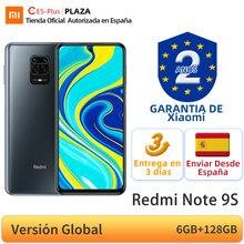 Versión Global Xiaomi Redmi Nota 9 S 9 S 6GB 128GB Smartphone Snapdragon 720G Octa Core 48MP Quad Cámara 6,67