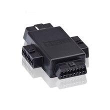 OBDII OBD2 16 Pin 1 Male to 3 Female OBD2 Adapter Connector