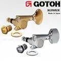 Gotoh SGI510 ensemble d'accordeurs de tête de Machine ukulélé, 2L 2R fabriqué au japon