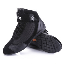 Boots Moto-Protection Biker-Touring Motorcycle Bots-Shoes Riding Summer Women Breathable