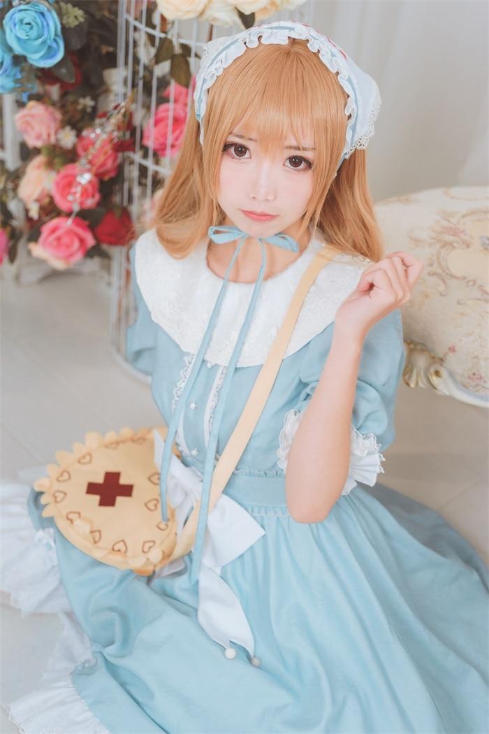 ★网红★面饼仙儿–cos血小板lolita[13P/107MB]插图