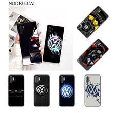 NBDRUICAI Cool Car Volkswagen Phone Case for Samsung Note 3 4 5 7 8 9 10 pro A7 2018 A10 A40 A50 A70 J7 2018(China)