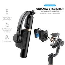 Fangtuosi handheld cardan estabilizador com tripé do obturador bluetooth para smartphone câmera de ação vídeo registro vlog ao vivo