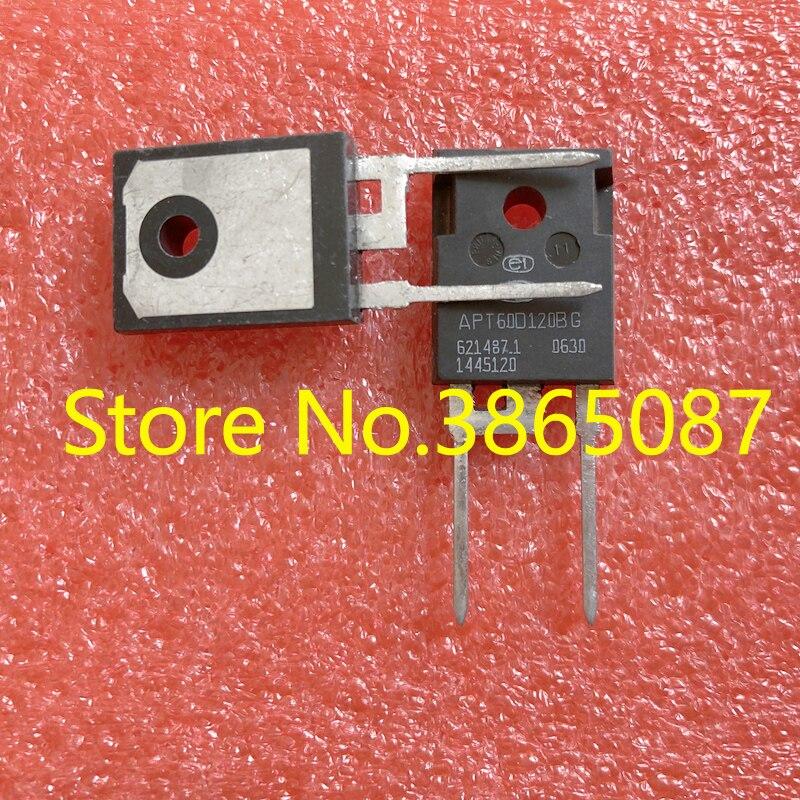 APT60D120BG APT60D120B APT60DQ120BG APT60DQ120B TO-247, сверхтонкий выпрямительный диод для восстановления, 10 шт./Лот, оригинал, новый