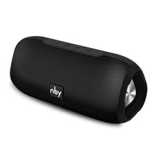 NBY przenośny głośnik Bluetooth bezprzewodowy głośnik Stereo nagłośnienie zewnętrzny głośnik wodoodporny 10W Music Surround