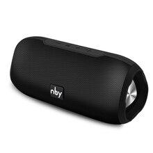 Nby portátil alto falante bluetooth sistema de som estéreo sem fio alto falante à prova d10 água ao ar livre 10w surround música