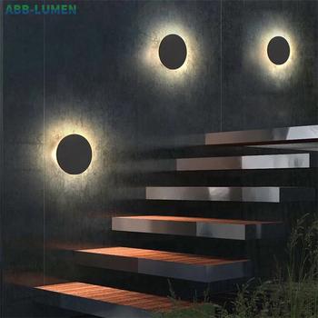 Led zewnętrzna ściana światło wodoodporne led światło zewnętrzne światło werandy IP65 światło balkonowe led zewnętrzna kinkiet światło zewnętrzne ing led oświetlenie zewnętrzne tanie i dobre opinie ABB-LUMEN Aluminium Pieczenia OWL10 IP65 Waterproof ROHS 85-265 v Kinkiety 2 years Nowoczesne Oświetlenie obiektów handlowych