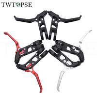 TWTOPSE 78g Lightweight Bike Brake Lever For Brompton Folding Bicycle V Brake CNC Cycling Road Bicycle Parts Accessories 1 Pair