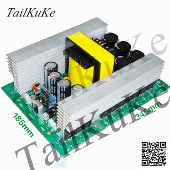 EE85 Core High Frequency Copper Strip Transformer High Power Inverter Booster Front Module 24V Special Push pull