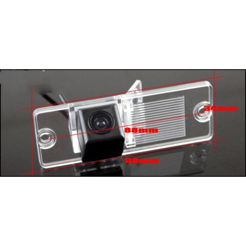 HD C/ámara de Marcha atr/ás Trasera de Repuesto para c/ámara de visi/ón Nocturna Resistente al Agua para Mitsubishi Pajero Montero Shogun V80 mk4