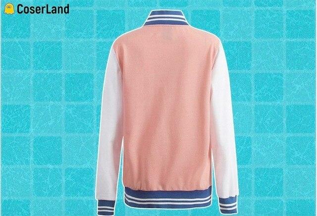 Anime gratuit! Iwatobi – veste de Cosplay pour Club de natation, vêtement de sport unisexe rose Tachibana Makoto