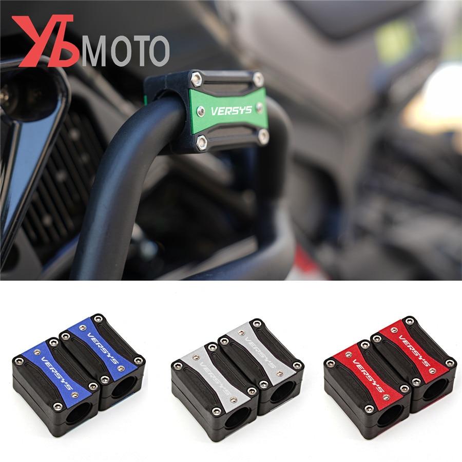 For kawasaki Versys 300X 300 x300 Versys 650 1000 Motorcycle Bumper Protection Decorative Block Engine Guard Crash pad(China)