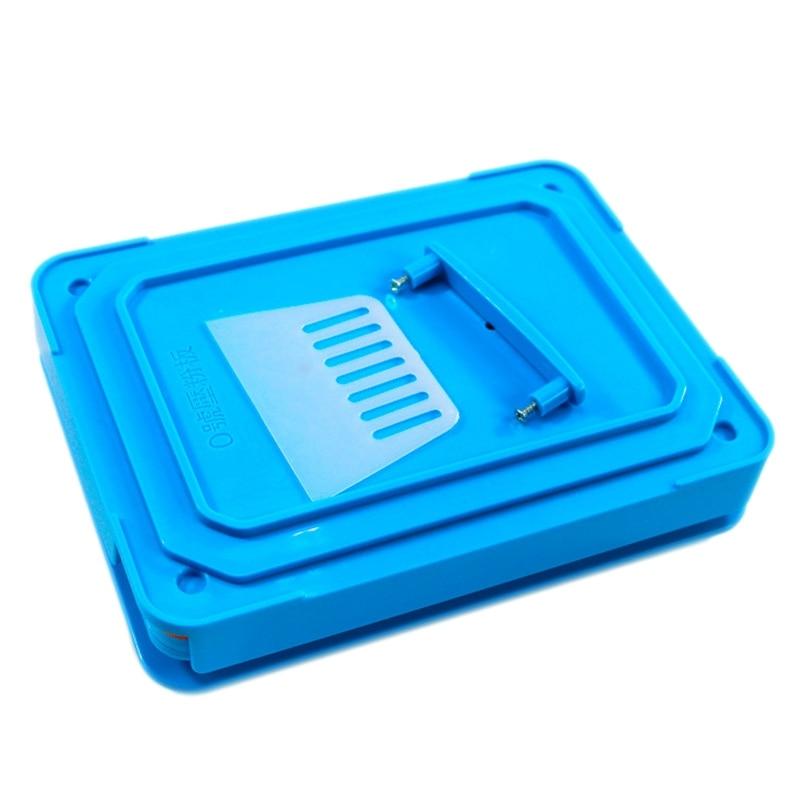 200 Holes Manual Capsule Filling Machine Pharmaceutical Capsules Encapsulator Diy Medicine Pill Powder Filler