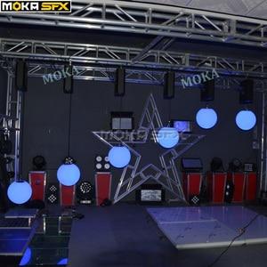 Image 5 - RGB Farbwechsel Led aufzug Ball dmx 512 8 chs Led Effekt Licht für nacht club professionelle bühne hochzeit dekoration