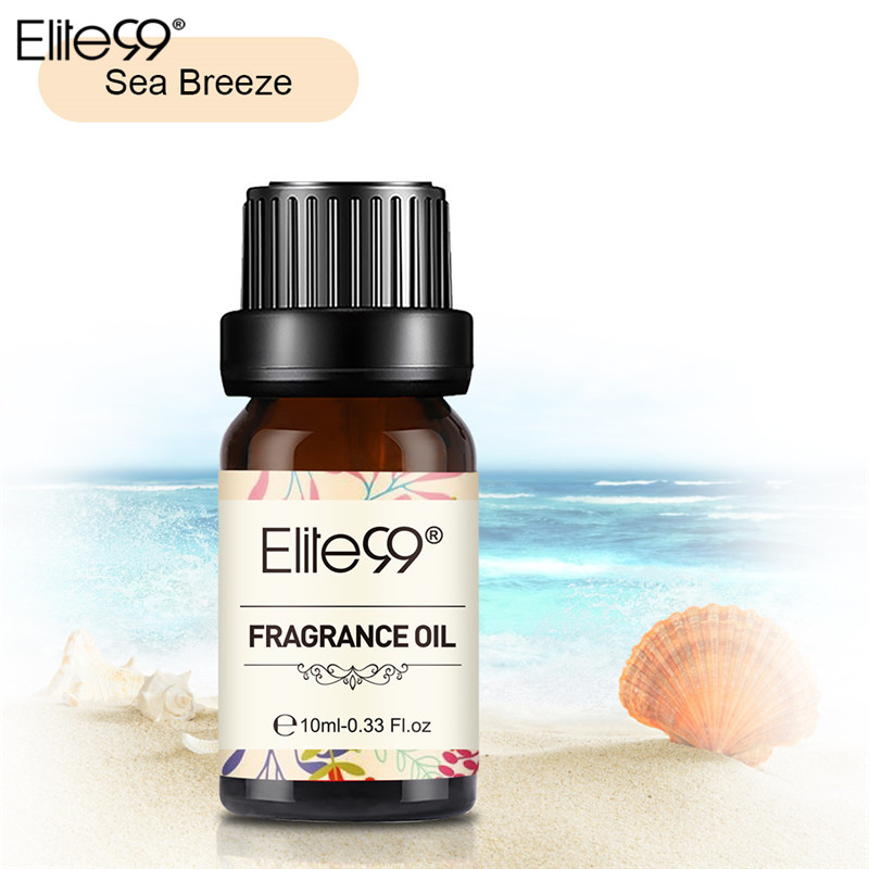 Elite99 Sea Breeze Fragrance Oil 10ML Flower Fruit Pure Essential Oil Relax Diffuser Lamp Air Fresh Massage100% Natural Relax