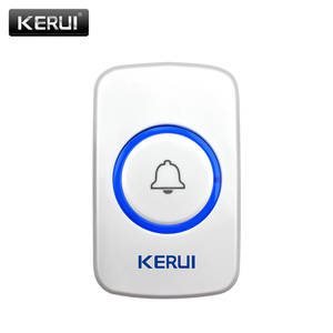 KERUI Doorbell Button Panic SOS Waterproof Home Wireless F52 F51smart-Receiver Gate Touch