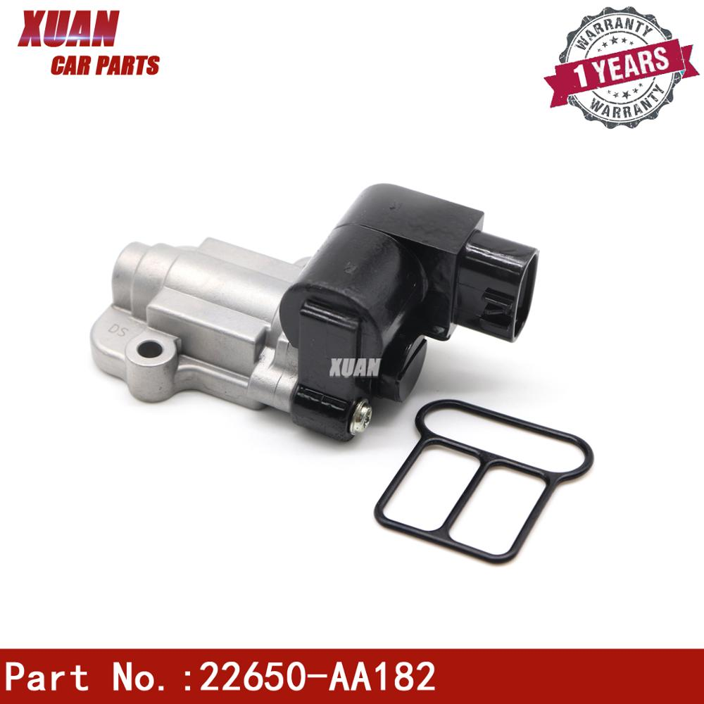 XUAN High Quality Idle Air Control Valve 22650-AA182 For Subaru Impreza WRX Sedan 4-Door 2.0L H4 EJ205 2002 2003 2004 2005