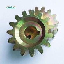 Pignone in acciaio GALO per motore cancello scorrevole 15 denti per KMP101 102 202