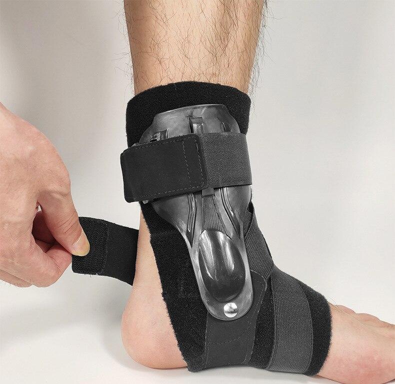 Suporte de tornozelo ajustável cinta esportes pé