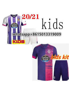 Jersey Shirt Kids-Kit Soccer Oscar Sergi Boys Real-Valladolid Guardiola Casual No Suit
