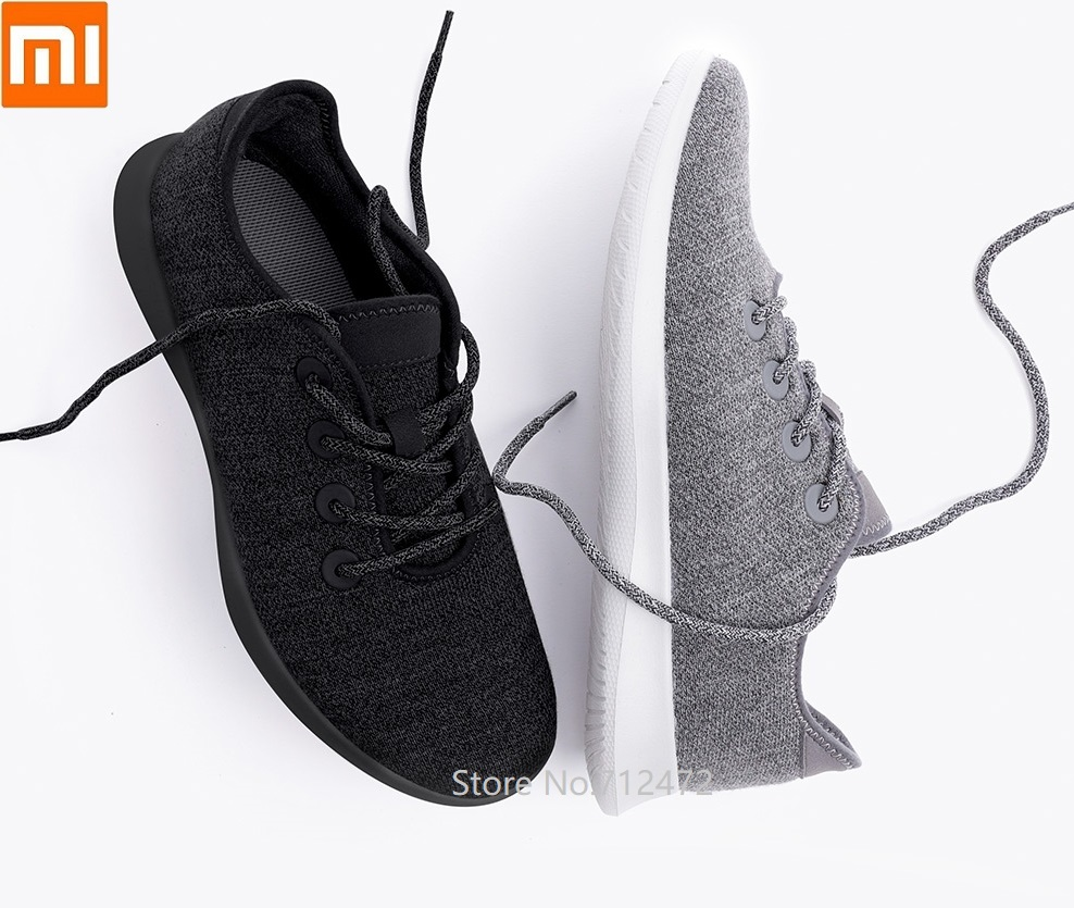 Xiaomi Aishoes Wool Comfortable Keep Warm Lightweight Casual Shoes Men Running Fitness Driving Shoes Sneakers