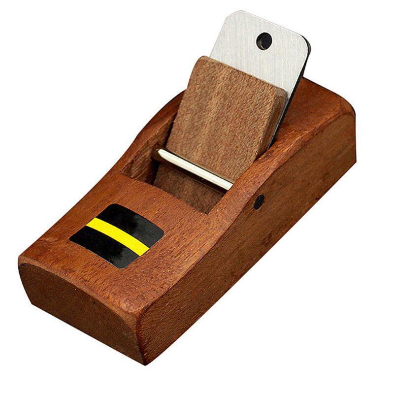Ferramenta de Corte Mini Carpintaria Plaina Carpinteiro Plano Borda Inferior Madeira 37md Mão