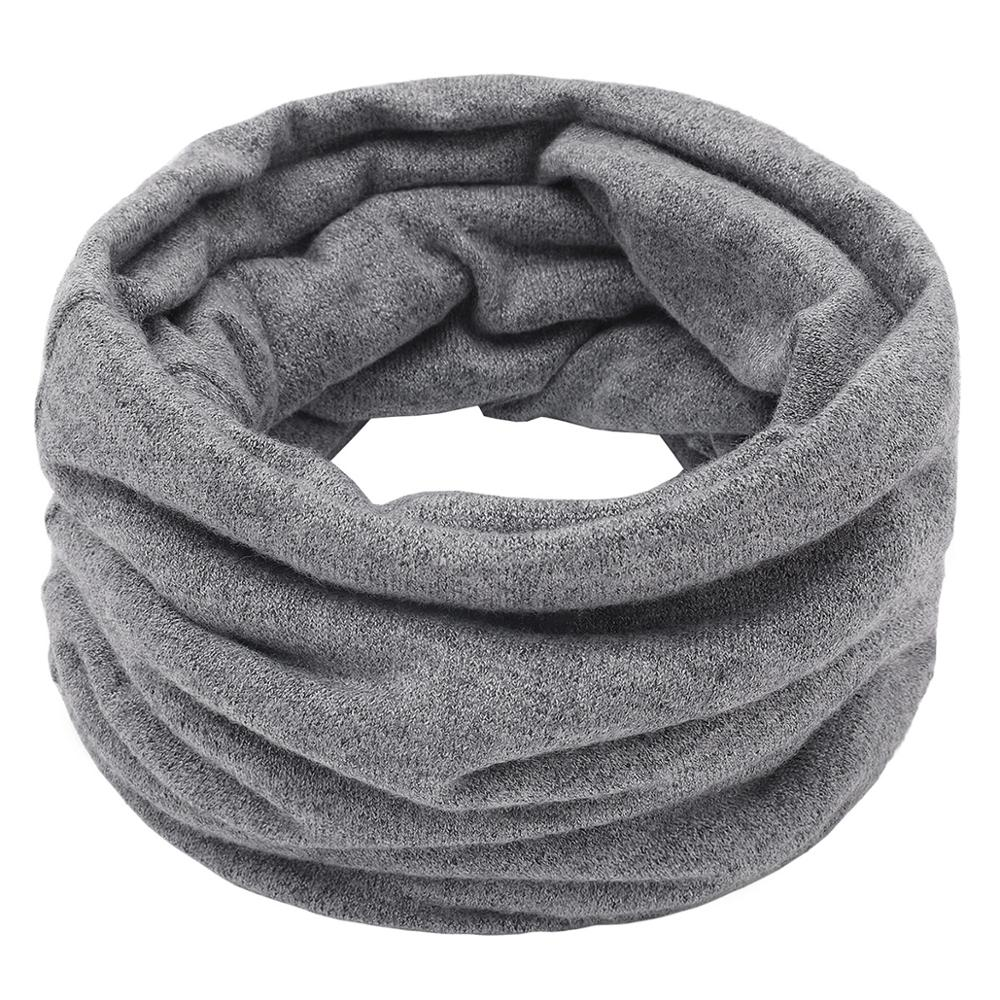 New Winter Warm Knitted Neck Warmer Casual Women Men   Scarf     Wrap   Outdoor Ski Climbing   Scarf   For Men Women Children Cotton   Scarves
