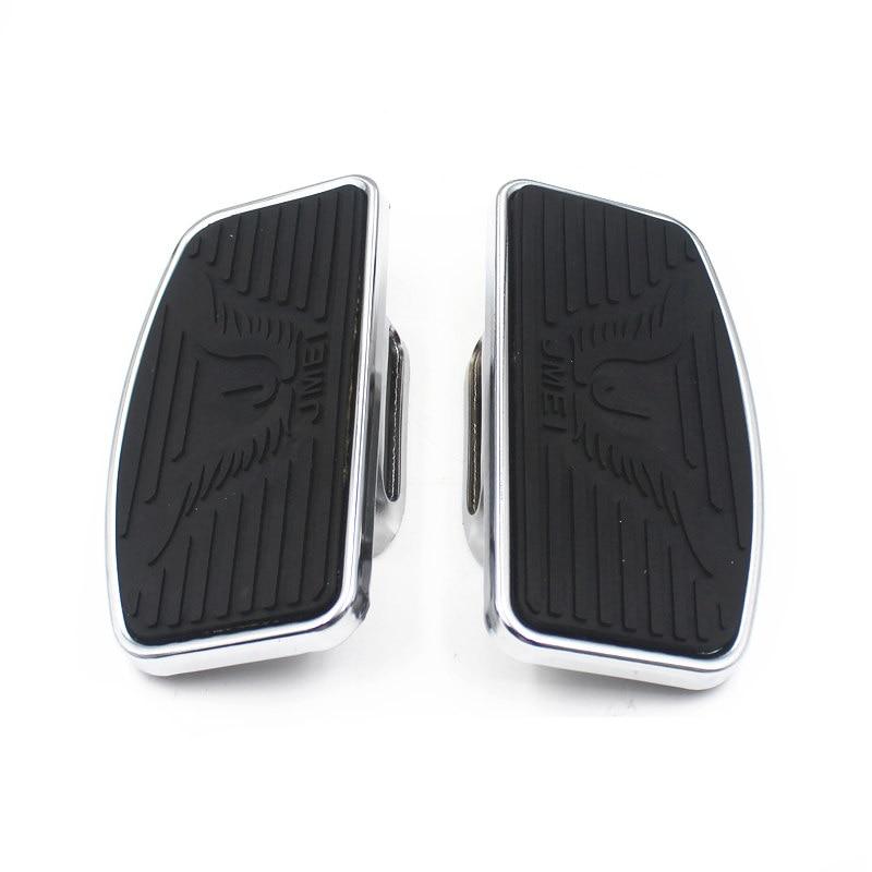 Motorcycle Adjustable Floorboard Footboards Footrest Pad For Honda Shadow VTX1300 1800 Suzuki VL400 VL800