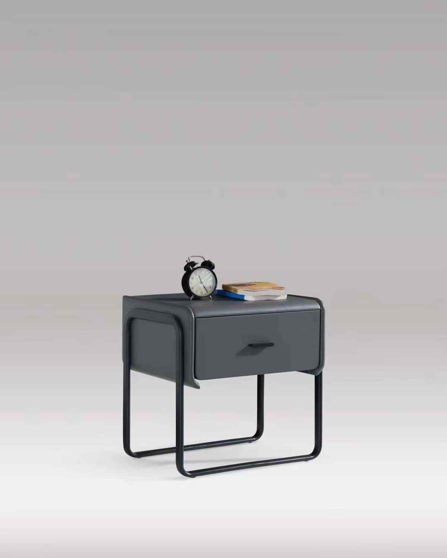 Современные кровати тумбочка Диван-Кровать Сторона Многофункциональный журнальный столик закаленное стекло Настольный