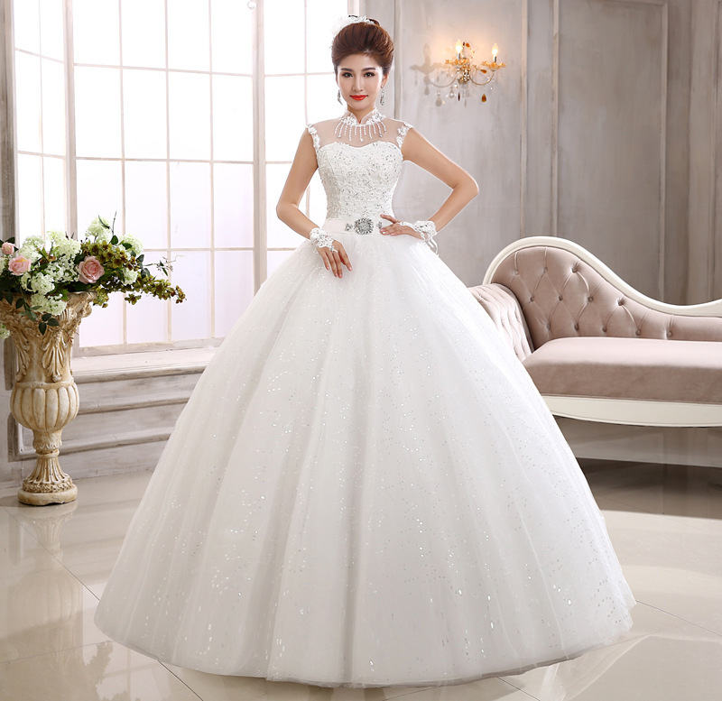Cocktail Dress Hot Sale Han Edition Lace Shoulder A Word Bride Show Thin Shoulders Neat, The New 2020 Big Yard