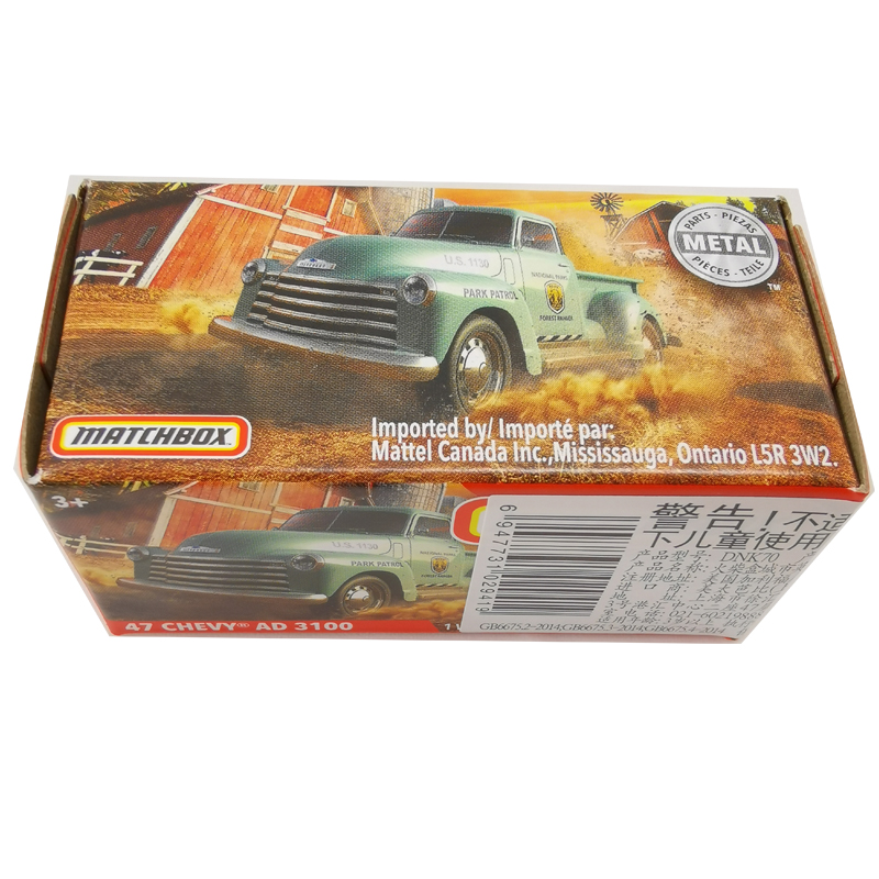 2020 Matchbox Cars 1:64 Car 47 CHEVY AD 3100 Metal Diecast Alloy Model Car Toy Vehicles