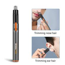 Nose Ear Trimmer Neck Hair Eyebrow Shaver Personal Groomer Face Removal Pen(China)