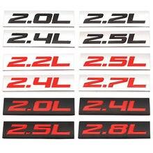 Автомобильная наклейка эмблема значок л наклейки для BMW Toyota Honda Nissan Opel Dodge Mazda Lada Buick Volvo