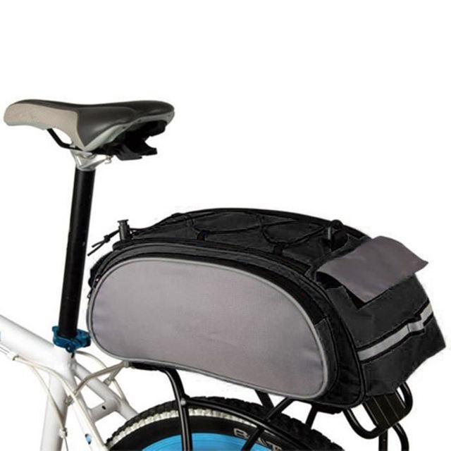 Mountain Road Bike Rear Seat Rack Trunk Bag Pack Pannier Carrier Shoulder Bag