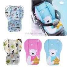 Almofada universal para carrinho de bebê, forro para assento de cadeira, colchão, protetor