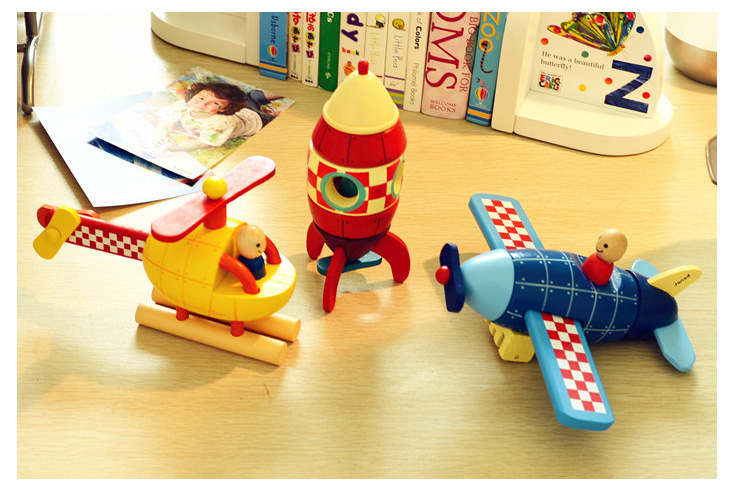 मुफ्त शिपिंग चुंबकीय disassembly और विधानसभा मॉडल विमान, हेलीकाप्टर, रॉकेट, तीन व्यापक, बच्चों के शैक्षिक खिलौने