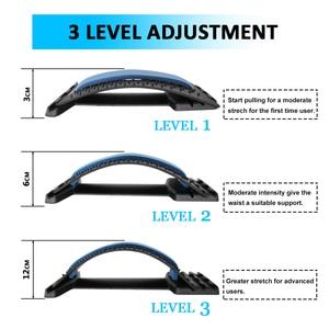 Image 5 - Back Massager Stretcher Equipment Massage Tools Massageador Magic Stretch Fitness Lumbar Support Relaxation Spine Pain Relief