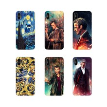 Für Apple iPhone X XR XS 11Pro MAX 4S 5S 5C SE 6S 7 8 Plus ipod touch 5 6 Tardis Box Doctor Who Zubehör Phone Cases Covers(China)