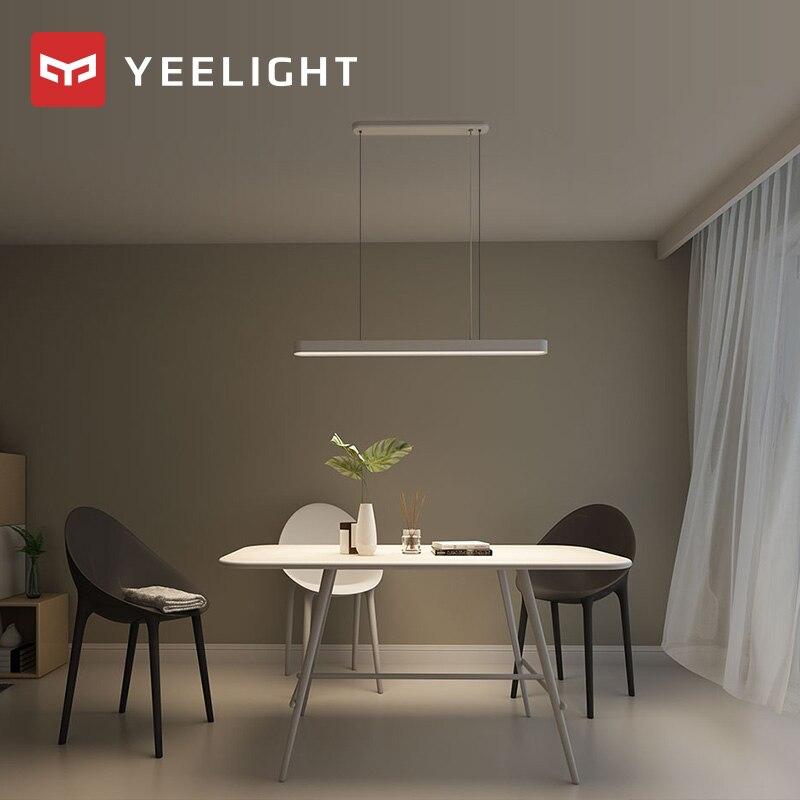 Original xiaomi mi jia yeelight meteorito led luzes pingente de jantar inteligente restaurante lustre trabalho com para mi casa app - 4
