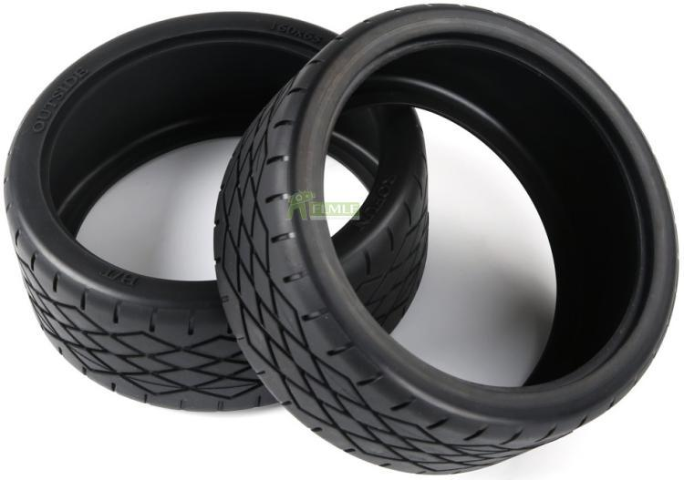 Tyre <font><b>Parts</b></font> F5 New Tires Skin Set Gen.2 Fit for 1/5 <font><b>Scale</b></font> Rovan F5 MCD XS-5 <font><b>Rc</b></font> Car <font><b>Parts</b></font> image